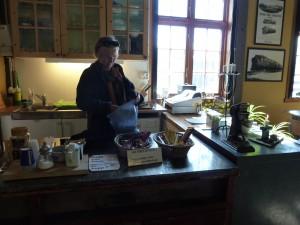 Cafe Rotaren betjent enkelte dager i sommersesongen