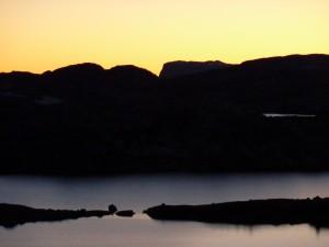 kveldslys over Fagervann