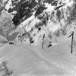 Roterande snøplog aust for Kleivane tunnel (1908)