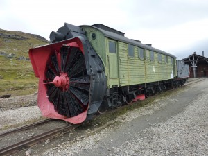 Damproterende snøplog nr 4 bygd 1914