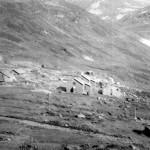 Upsete med brakker, tippen fra Gravhalstunnelen (20. juli 1896)