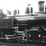 Damplokomotiv type 20a nr. 172 som nytt (1904)