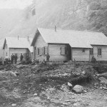 Anleggsbrakker,  muligens Seltuft (1895-1910)