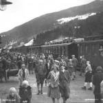 Påsketrafikk på Ål stasjon (1929)