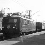 El. 11 nr. 2080 med godstog på Voss stasjon (1954-1970)