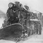 Damplokomotiv type 26c på Finse stasjon (1919-1930)