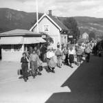 Reisande på Sokna stasjon (1939)