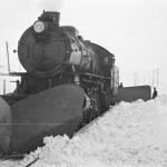 Damplokomotiv type 31a med stor frontplog og snøskrape (1937-1939)